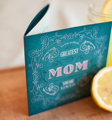 Custom Designed Mothers Day Photography Gift Certificate