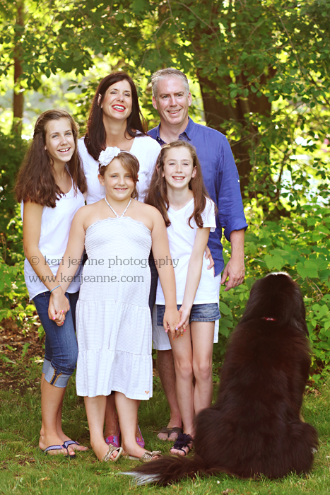 manchester by the sea, tucks point, family photography session