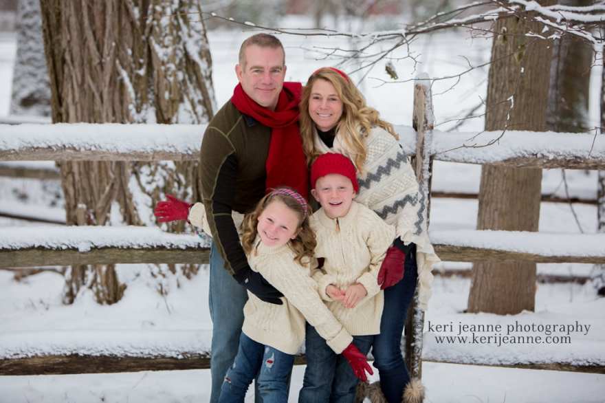 snow session, family session, keri jeanne photography, winter session
